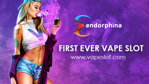 Endorphina introduced a first ever slot about vaping for ICE!