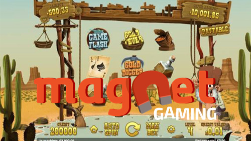 Magnet Gaming reveals new Gold Rush slot