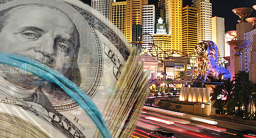 Nevada casinos back in the black for first time since 2008