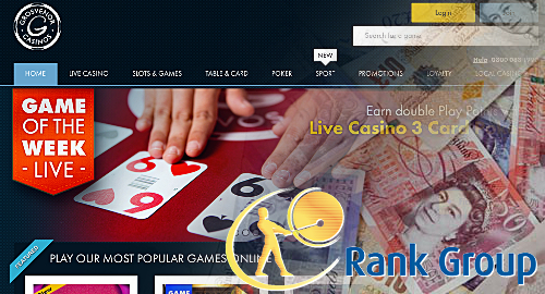 Rank Group prep new online slots, bingo brands