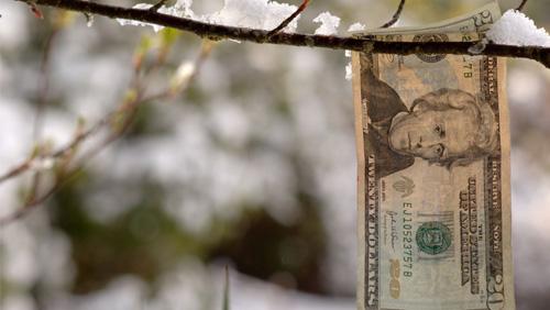 Snow freezes Indiana casino revenues