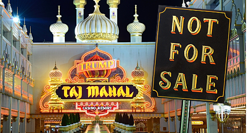 Icahn not interested in selling Trump Taj Mahal casino