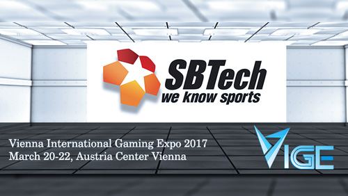 VIGE2017 announces SBTech as their newest Gold Sponsor