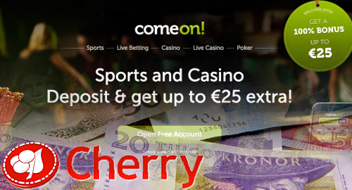 Cherry revenue, earnings pop thanks to ComeOn contributions