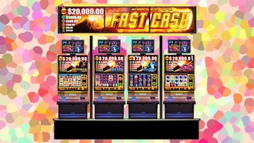 Aristocrat's game-changing Fast Cash™ wide area progressive slot product now racing across the United States