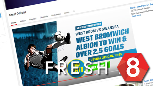 Coral launches dynamic video advertising from Fresh8 Gaming