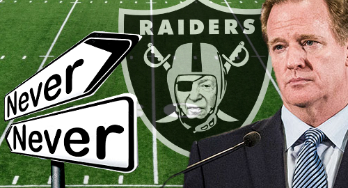 NFL wouldn't have let Adelson own a piece of Oakland Raiders