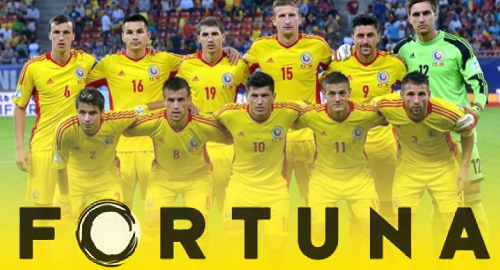 Fortuna new sponsors of Romania's national football team