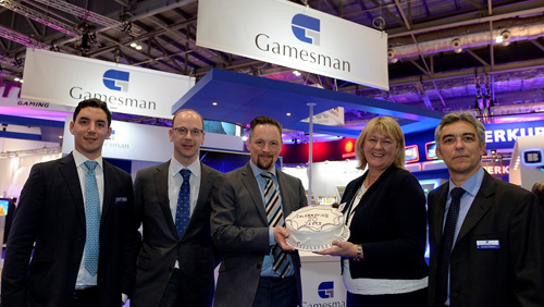 Gamesman celebrate at ICE