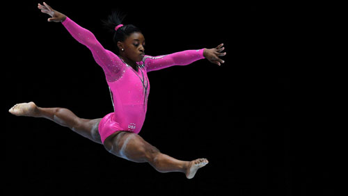 Gymnastics darling Biles is Dancing with the Stars Season 24 fave