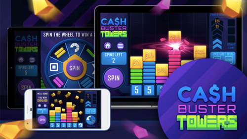 IWG launches Cash Buster Towers