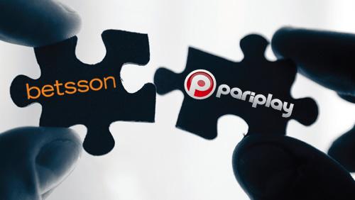 Pariplay Ltd. partners with Betsson.com