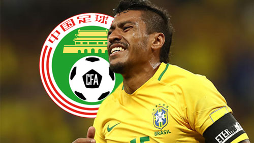 Chinese authorities admonish Paulinho over betting ad with Japanese porn star