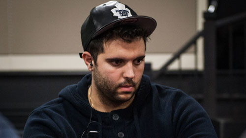 Salomon Ponte crosses the line on Poker Night in America