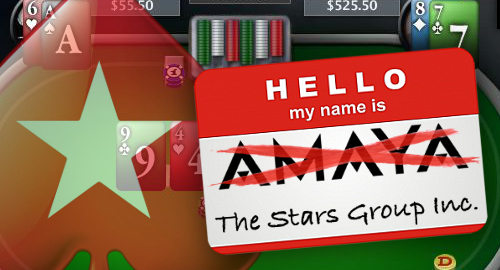 Amaya changing name to Stars Group, moving HQ after strong Q1