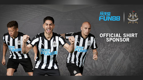 FUN88 announced as the new shirt sponsor of Newcastle United FC