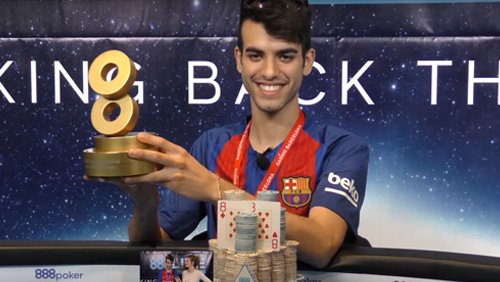 Luigi Shehadeh & Catalin Pop take the honours at 888Live Barcelona