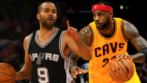 NBA playoff betting: Spurs, Cavs home favorites for Wednesday games