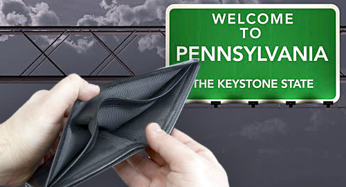 Pennsylvania senate's online casino tax plan a non-starter