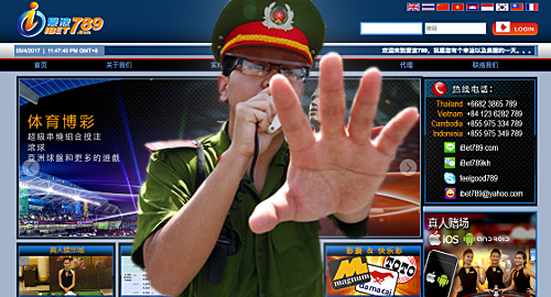 Vietnam busts Asia Live Tech-powered gambling site ibet789