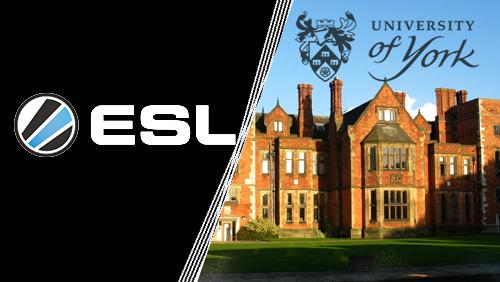 ESL to teach esports classes at the University of York
