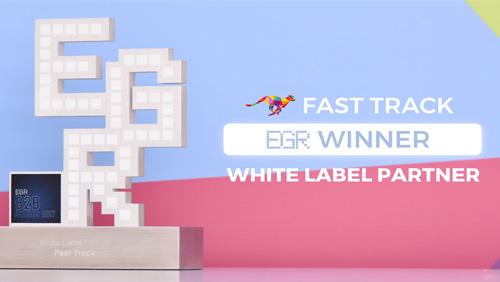 FAST TRACK Wins White Label Partner Award at 2017 EGR Awards