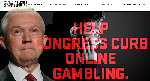Jeff Sessions recuses himself from federal online gambling ban talks