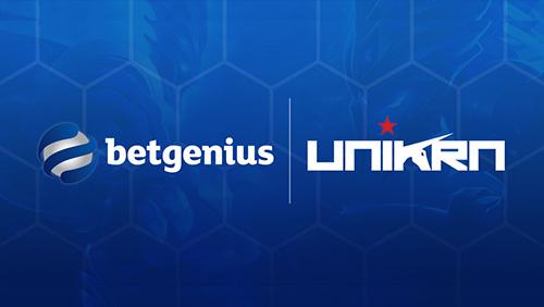 Unikrn and Betgenius Partner to Create Immersive Live Esports Betting Platform