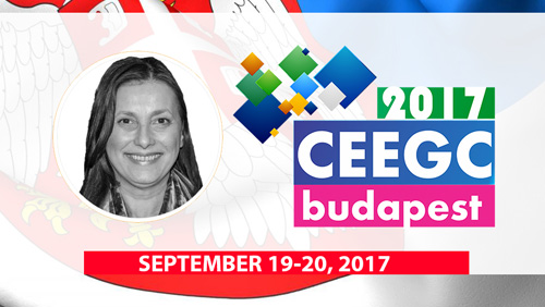 Mirjana Aćimović (JAKTA & EUROMAT) will shed light on the Serbian gambling market at CEEGC2017 Budapest