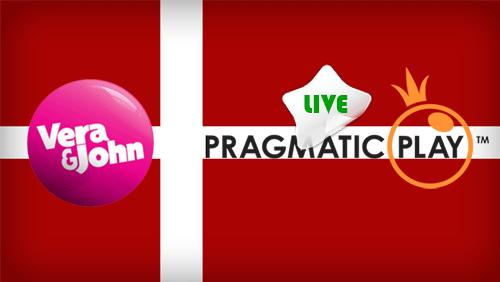 Pragmatic play live in Denmark with Vera&John