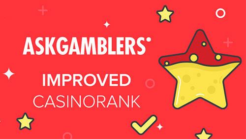 AskGamblers enhance CasinoRank algorithm