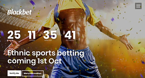 "Blackbet promises ""ethnic betting"" site, whatever that is"