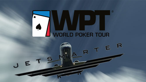 The World Poker Tour has an official private jet partner