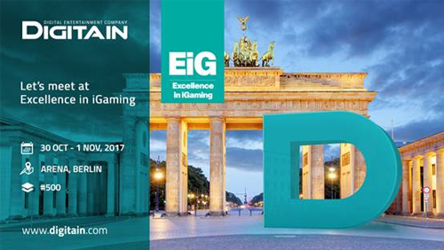 Digitain set to showcase new products at EiG
