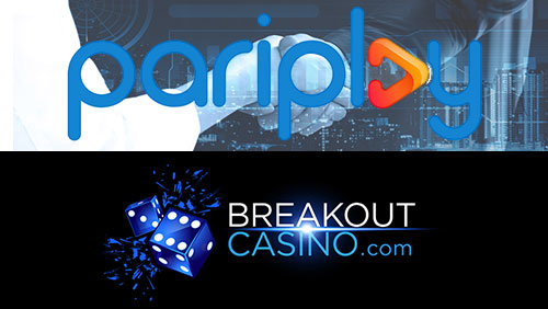 Pariplay partners with Breakout Gaming Group to launch Breakout Casino