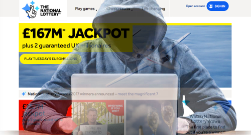 Camelot says National Lottery website hit by DDoS attack