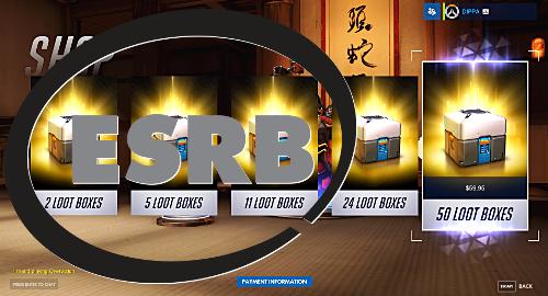 Ratings board says video game 'loot boxes' aren't gambling