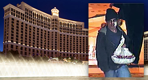 Bellagio casino's poker cage robbed by armed bandit
