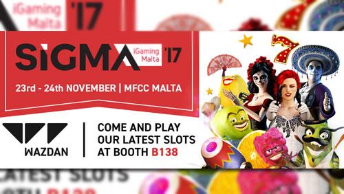 Meet exciting games provider Wazdan at SiGMa 2017