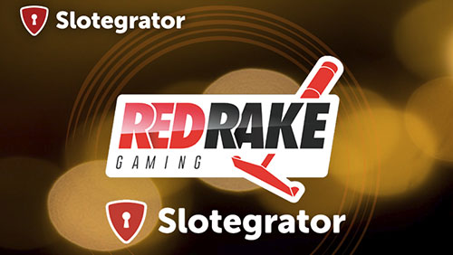 Slotegrator started cooperating with Red Rake Gaming