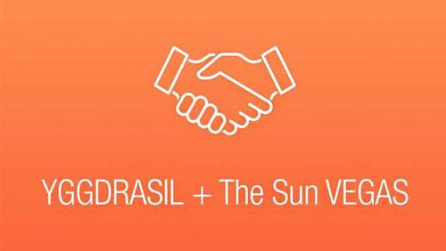 Yggdrasil agrees Sun Vegas deal with Tabcorp