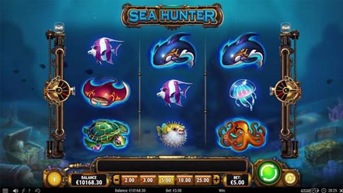 Take a deep dive into Play'n GO's new slot Sea Hunter