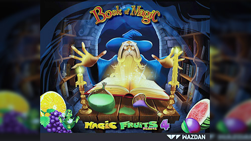 The Book Of Magic Deluxe casts a scintillating spell in Wazdan's latest slot