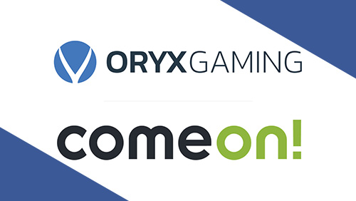 Exclusive ORYX Gaming content sweetens ComeOn! brands