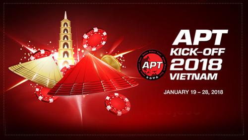 Three billion guaranteed main event prize pool at APT Kickoff Vietnam 2018