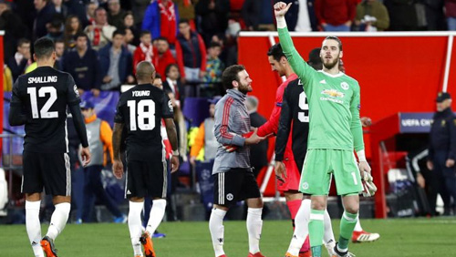 Champions League round-up: another clean sheet for Utd; Donetsk beats Roma