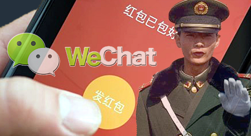 WeChat gambling crackdown ahead of Lunar New Year party