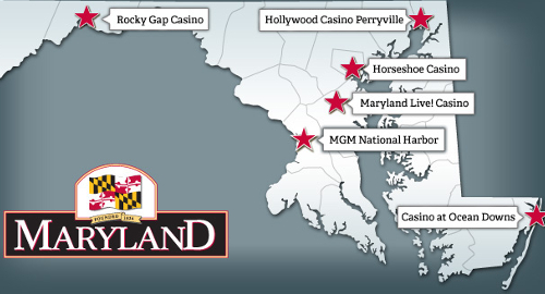 Maryland casinos eke out modest revenue gain in January