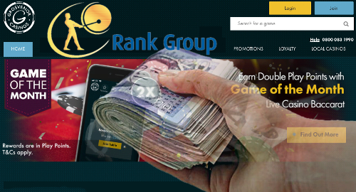 Rank Group's digital division the belle of its H1 ball