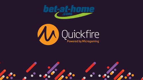 Quickfire content live on bet-at-home.com